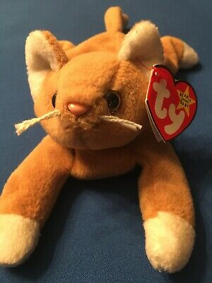 MWMT 7.5 Inch Ty Beanie Baby ~ TABS the Cat