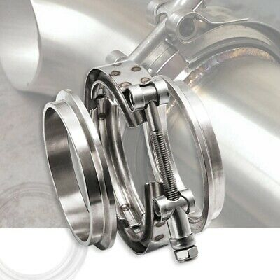 3'' Inch SS304 V-Band Clamp Stainless Steel M/F 3 v band Turbo Exhaust Down O4G5