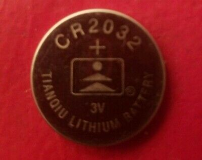 1 Tianqui CR2032 3 Volt Lithium Button Cell Battery