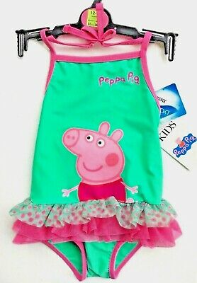 Peppa Pig Baby Girls Swimsuit M&S 1  - 11/2 years (12 - 18 Months ) BNWT