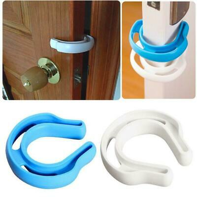 Child Safety Door Anti-pinch Protect Fingers Stopper Baby Infant Safe Guard B0S5
