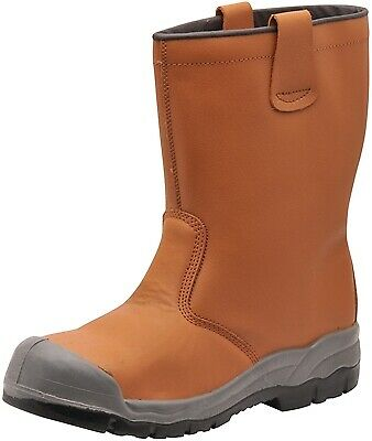 119 Tan Steelite Rigger Boot Uk7 FW13TAR41 Portwest Genuine Top Quality Product