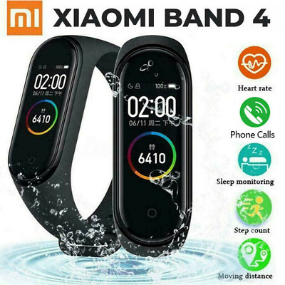 "Xiaomi Mi Band 4 Smart Bracelet 0.95""AMOLED Fitness Tracker Wristband Waterproof"