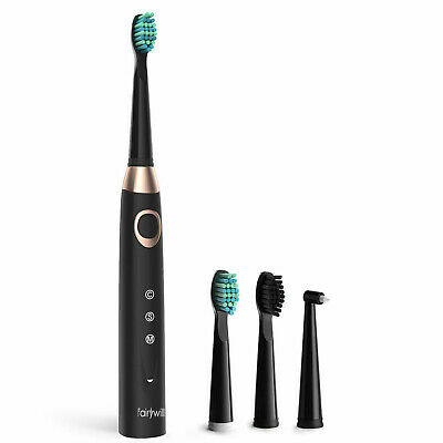 Rechargeable Fairywill Electric Toothbrush 3 Modes for Adults Powerful