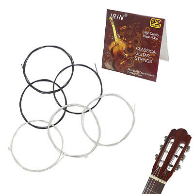 Guitar Strings 6pcs C101 Classical Guitar String Set Nylon Core 1st-6th ~GN