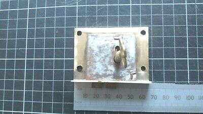 Antique Brass-Steel Cupboard-Cabinet drawer- lock  66mm -1 Key  (408)