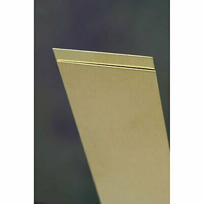 "KS Percision Metals 16405 Brass Sheet Metal Rack, 0.025"" Thickness X 6"" Width X"