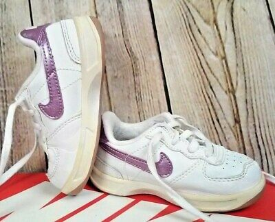 f672f7e6694bb NIKE AIR FORCE 1 AF1 (TD) WHITE PERFECT PINK LIME 314221-103 SZ 7C ...