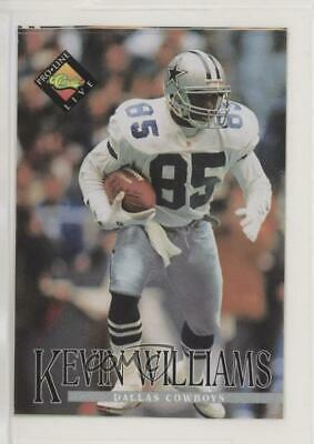 1994 Classic Pro Line Live Kroger Coupons Kevin Williams Dallas Cowboys Card