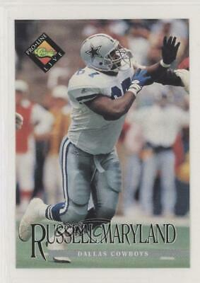 1994 Classic Pro Line Live Kroger Coupons Russell Maryland Dallas Cowboys Card