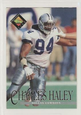 1994 Classic Pro Line Live Kroger Coupons Charles Haley Dallas Cowboys Card