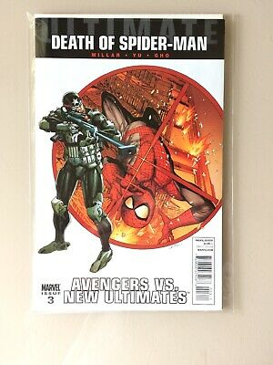 Ultimate Death of Spider-Man Avengers vs New Ultimates #4 Bryan Hitch Variant
