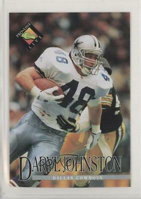 1994 Classic Pro Line Live Kroger Coupons Daryl Johnston Dallas Cowboys Card