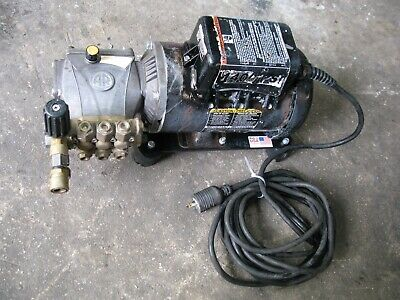 Electric Cart Pressure Washer, Cold Water Type, 2.0 gpm, 1500 psi Tested !