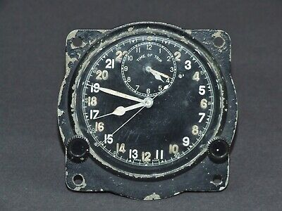 Early RAF Mk111b Instrument Panel Clock