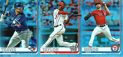 2019 Topps Series 1 and 2 RAINBOW FOIL PARALLELS - You Pick the Cards