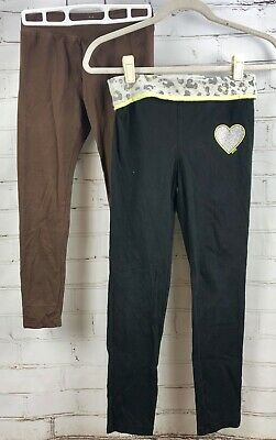 JUSTICE Leggings / Yoga Pants Lot of 2 Bottoms Size 12