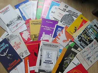 Large Selection of Theatre Programmes from the 1970's