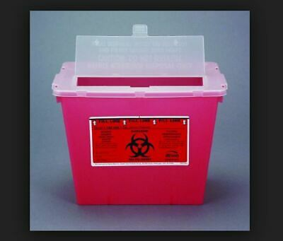 Bemis Sentinel Red Plastic Sharp Container 2 Gallon 102030