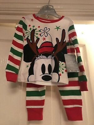 New Disney Store Baby Xmas Pyjamas 12 To 18 Months Unisex