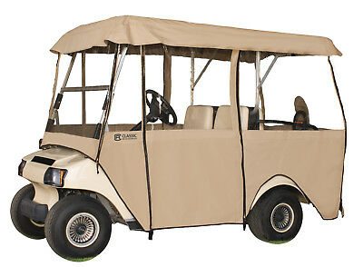 Classic Accessories Deluxe 4-Sided Golf Cart Enclosure  4-Person
