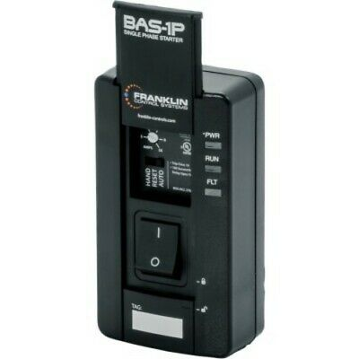 Franklin Control Systems BAS-1P Manual Motor Controller  1/pkg 1HP Single Pha...