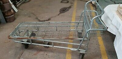 Flatbed Trolley metal wire trolley