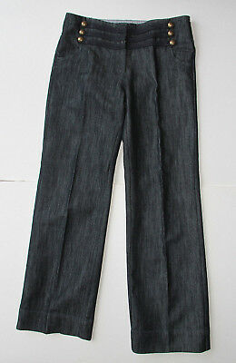 NEXT SAILOR WIDE FIT JEANS TROUSERS 12Y 152cm VGC