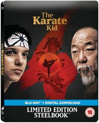 The Karate Kid 1984 Limited Edition Steelbook Blu-ray Free Delivery!!