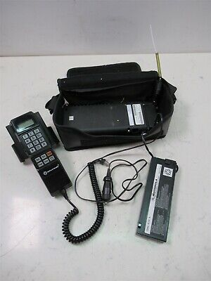 Vintage Bag Phone Motorola Bell South Mobility Cellular 52516A SCN2395A