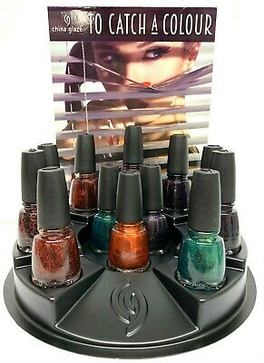 China Glaze Nail Lacquer- TO CATCH A COLOUR Halloween 19 Collection- Choose Any