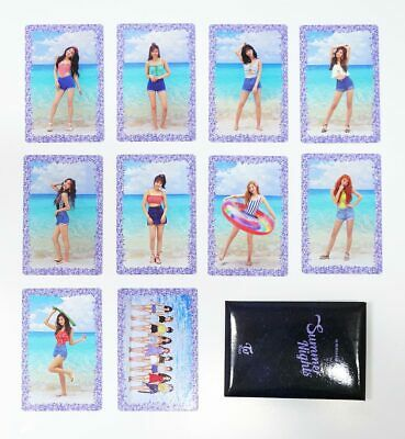 TWICE - [Summer Nights] Preorder Benefit Official Photocards [C ver.]  10pcs