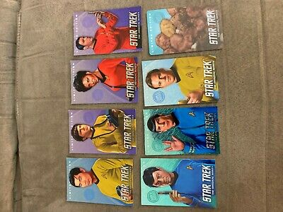 Dave and Busters Star Trek Limited Edition Complete Set