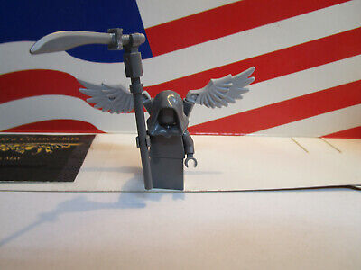 Lego Harry Potter Grim Reaper Statue Minifigure With Sickle From Set 75965