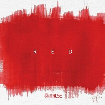 THE ROSE - RED (3rd Single Album) CD+2Photocards+16Inner Cards+Poster+Free Gift