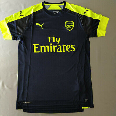 on sale 044ea 5eeff AUTHENTIC ARSENAL THIRD Kit Jersey 2016/2017 Puma Fan Version Brand New