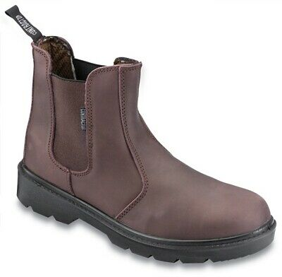 Contractr Dealer Boot Brown Size 10 804SM10 Contractor Genuine Quality Product