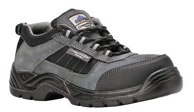 367 Blk Trekker Safety Shoe Uk10.5 FC64BKR45 Portwest Genuine Quality Product