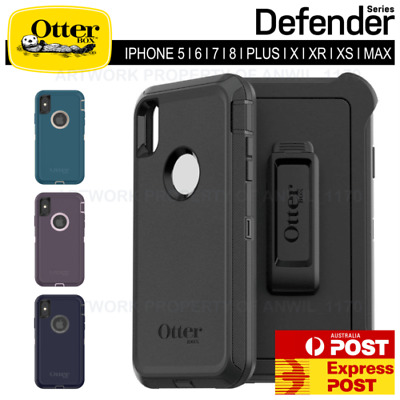 Otterbox Defender iPhone 11 PRO 5 6 6s 7 8 Plus X XR XS MAX + Hybrid Case Cover
