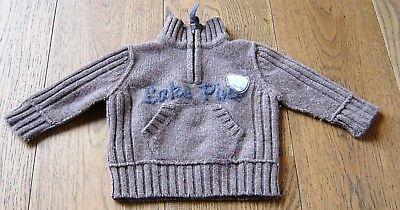 Country Road Baby  Boys Wool Jumper Sz 0 - 3 Months