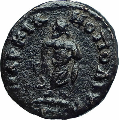 CARACALLA Ancient Marcianopolis Roman Coin ASCLEPIUS SERPENT Medic STAFF i78542