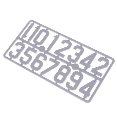 beehive plastic card number sign frame marking board beekeeping~GN