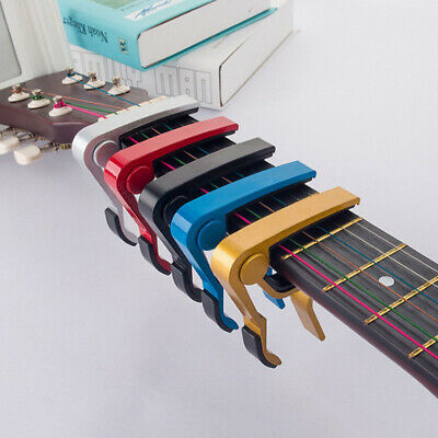 Advanced guitar capo quick change tune clamp acoustic electric classic gui~GN