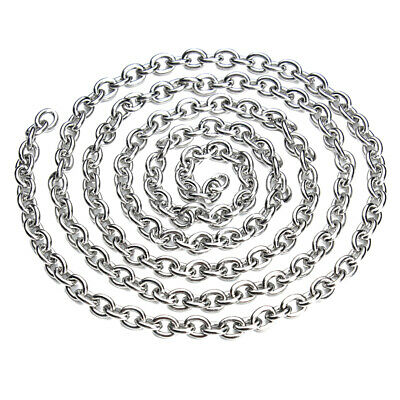 5M Stainless Steel Chain For DIY Necklace Bracelet Jewelry Making Accessory
