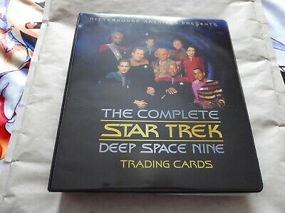 Star Trek Deep Space Nine DS9 Complete Card Set  and Album