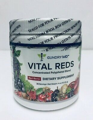 GUNDRY MD - Vital Reds - Concentrated Polyphenol Blend - 30 servings 4 oz