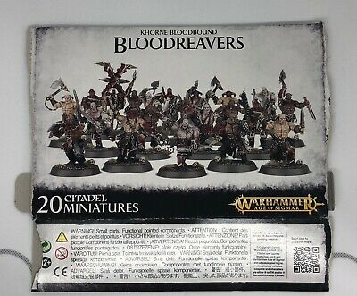 Over 80 Warhammer AOS Khorne Bloodreavers / 40K Chaos Space Marine Cultists