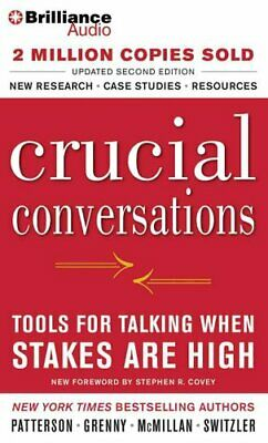 Crucial Conversations Tools for Talking When Stakes are High 9781469266824