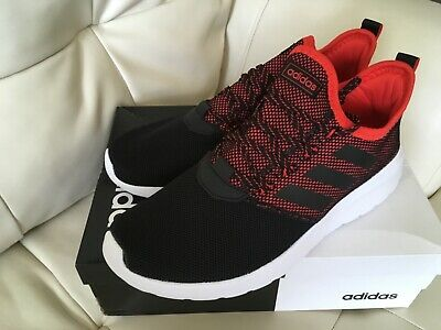 ADIDAS Lite Racer RBN Shoes Men's F36648 Black & Red Size 13 Free Shipping
