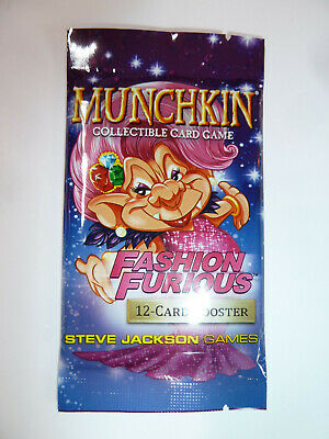 Munchkin CCG Fashion Furious booster collectible card game pack Jackson NEW!
